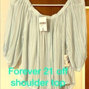 Off shoulder top by forever 21